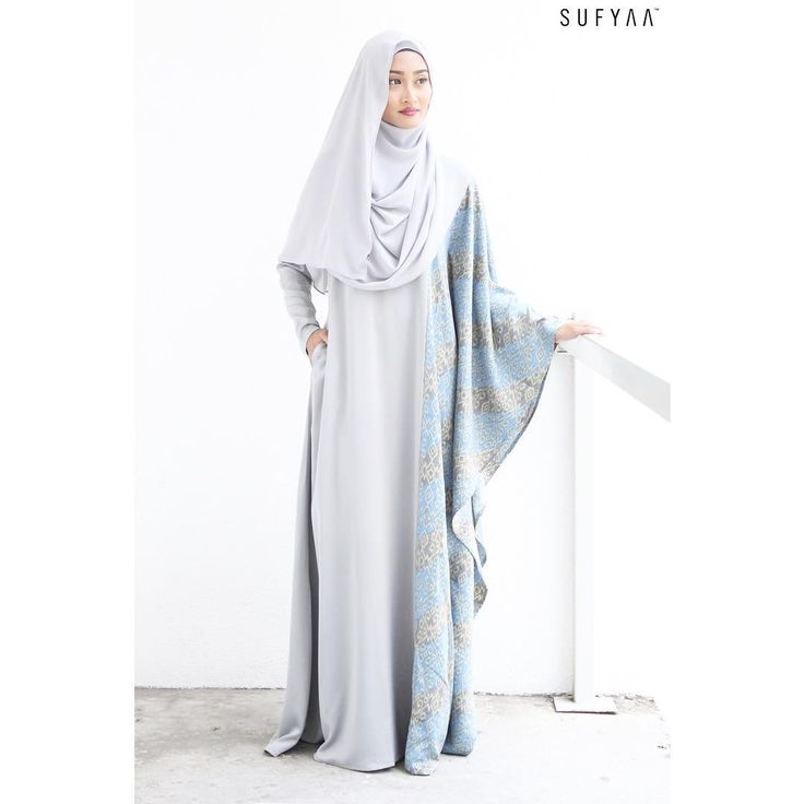 Comfort, style and elegance all in a dress. Our Eid Al Adha collection is now available in stores. -Batik Kaftan in Silver -Drapery Instant Hijab in Light Grey All on www.sufyaa.com.sg (Sufyaa VIP gets 10%) #sufyaa #sufyaatradisi #sufyaabespoke #sufyaaatelier #sufyaashowroom #singapore #tanjongkatongcomplex #sufyaaeid2016 #hijabfashion #chichijab #kaftan #instantshawl
