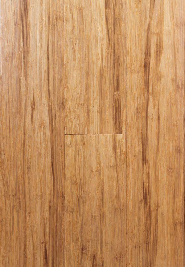Bamboo flooring strand woven click lock Natural