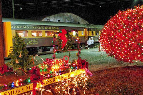 Polar express Train ride In Brsyon City North Carolina!