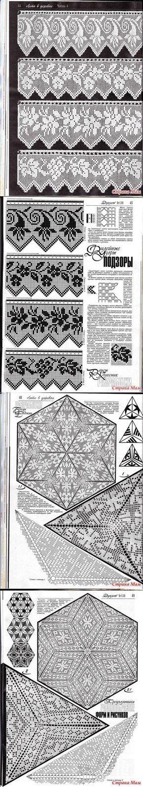La colección de las cintas: la orla y los triángulos | samobranochka - el sitio para las laboreras, las maestras