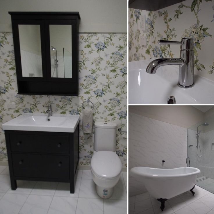 Another view of Angela's bathroom in Nundah to begin the ...