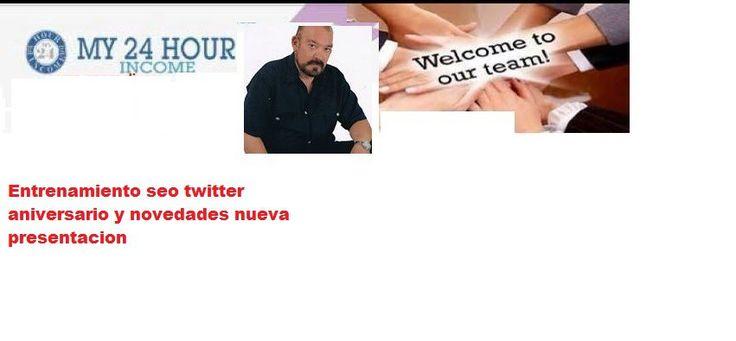 MY 24 HOUR INCOME ESPAÑOL 14 ANIVERSIARIO  Y SEO CON JORGE IVAN FRANCO MY 24…