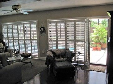 Plantation Shutters contemporary window treatments