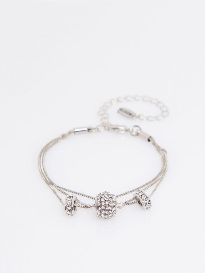 Delicate charm bracelet, MOHITO