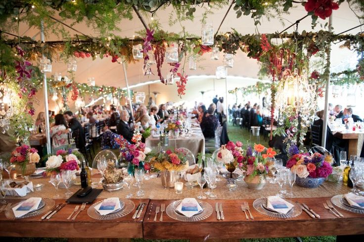 Rainingblossoms Wedding Receptions Tents Decoration: Rustic Wedding Tent Decoration