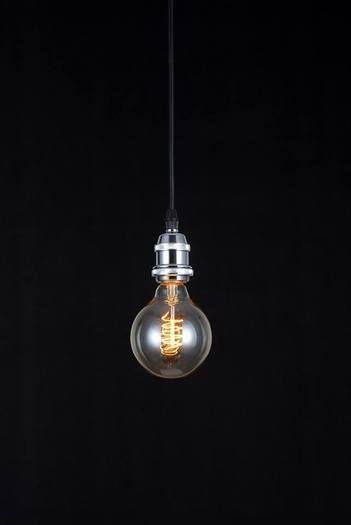 Clear Glass Bulb Pendant
