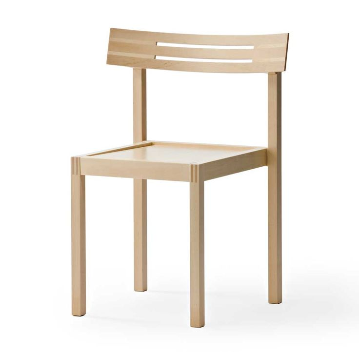 Natural birch PUMU chair by Jouko Järvisalo