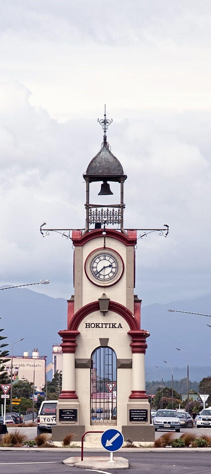 Hokitika - NZ, the iconic clock tower