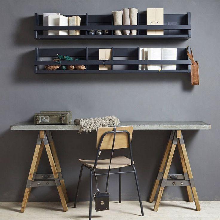 Inspiring Industrial Home Office Ideas