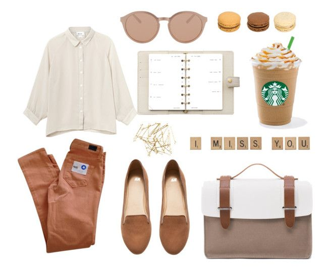 Untitled #8 by sofiafisa on Polyvore featuring polyvore, fashion, style, Monki, Paige Denim, H&M, Seventy Eight Percent, Linda Farrow Luxe and Louis Vuitton