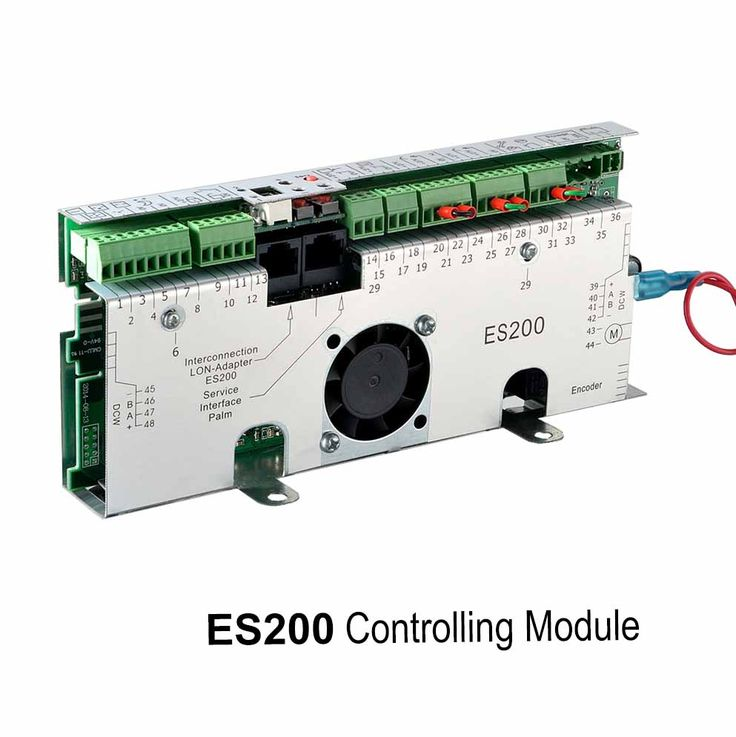 ES200 controller, Basic module and Function module, for ES200 automatic sliding door. Detail available on www.sanwaytech.com