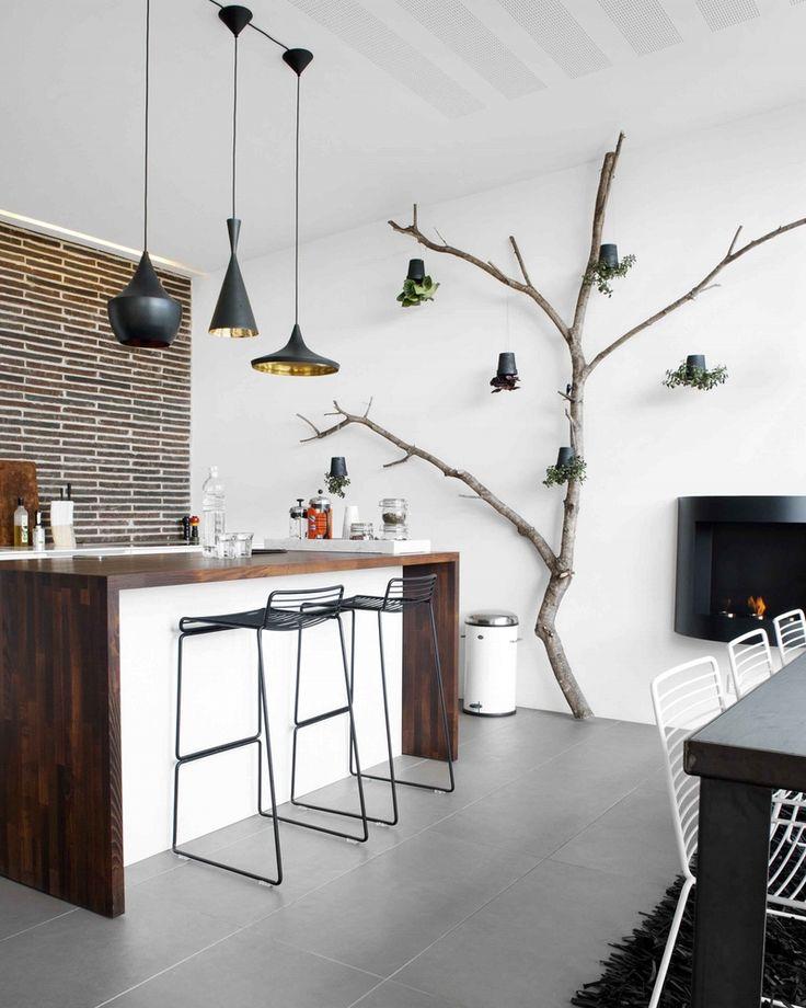 Idée décoration DIY arbre intérieur