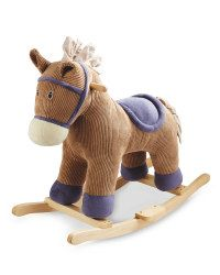Wooden Rocking Horse - ALDI UK