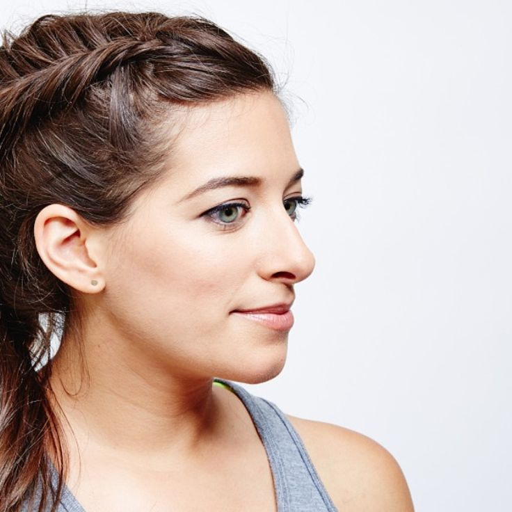 We're Obsessed With This French Fishtail Ponytail