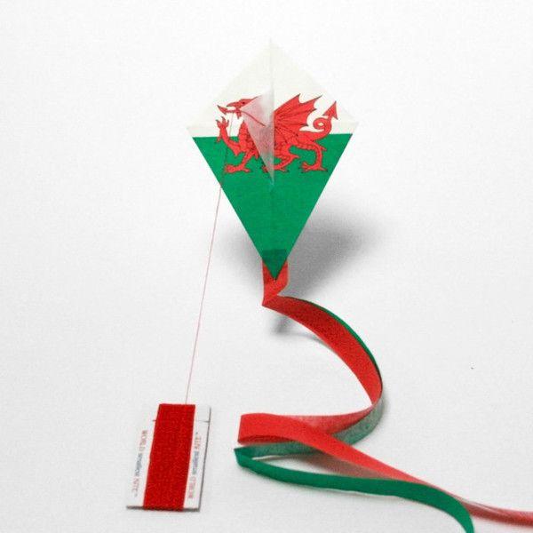 WELSH flag kite