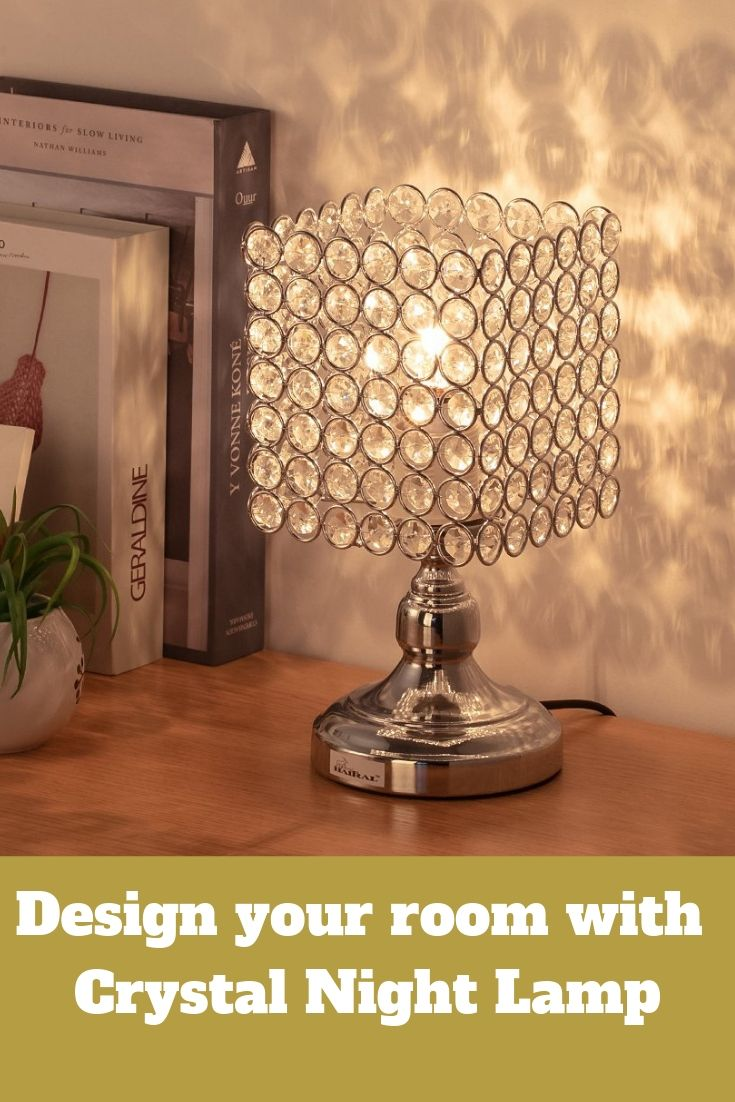 Square Crystal Night Lamp Lamp Night Table Lamps Night Lamps