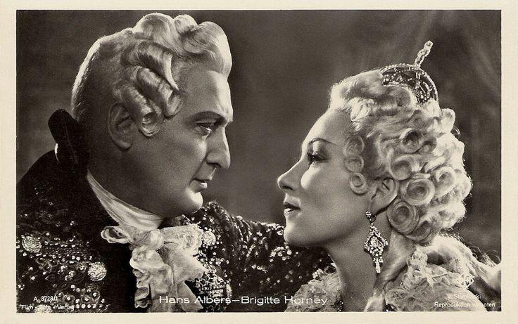 Hans Albers, Brigitte Horney  German postcard by Film-Foto-Verla