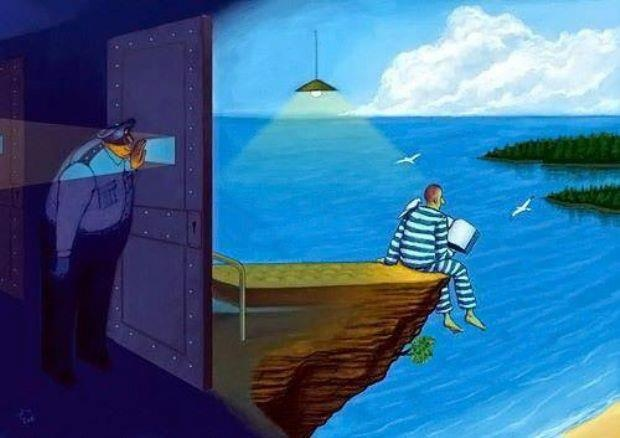 Podrán, encarcelar tu cuerpo, pero no tu mente