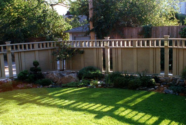 17 best images about craftsman style fence design ideas  on pinterest