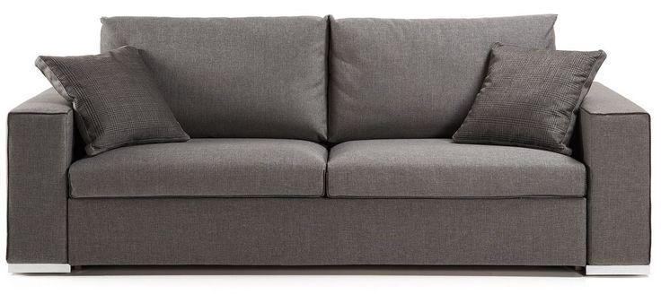 Sovesofa, modell: BIG 140, mørk grå
