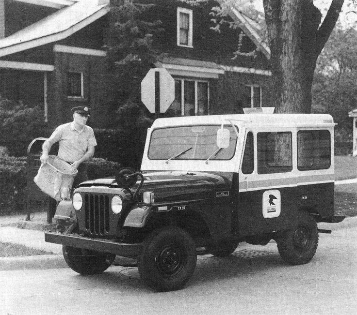 Old Postal Jeeps For Sale