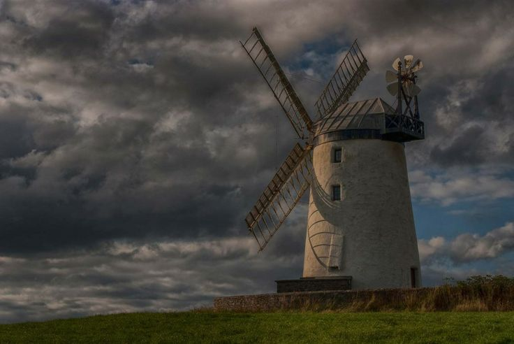 """Ballycopeland Windmill, Co.Down, Northern Ireland - """"Highly Commended"""" award August 2013, Landscape section SWPP Monthly Competitions."""