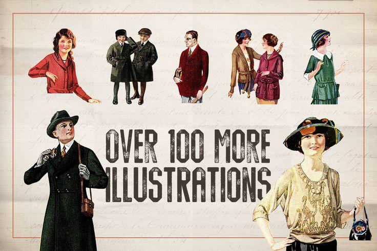 150 Vintage Illustrations Volume 1