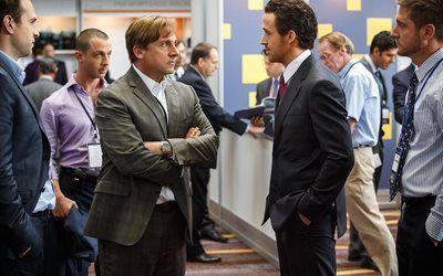 壁紙をダウンロードする 略歴, ryan gosling, 2016年, 映画, キリスト教のベール, ドラマ, steve carell, ブラッド-ピット