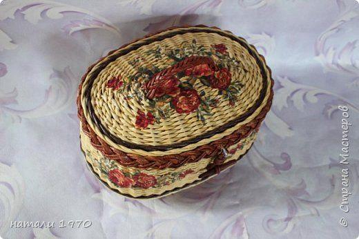 Поделка изделие Плетение И снова я к вам   Трубочки бумажные фото 17