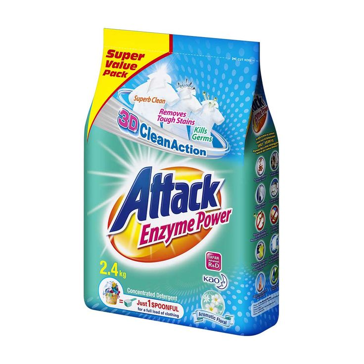 Attack Enzyme Power Laundry Detergent