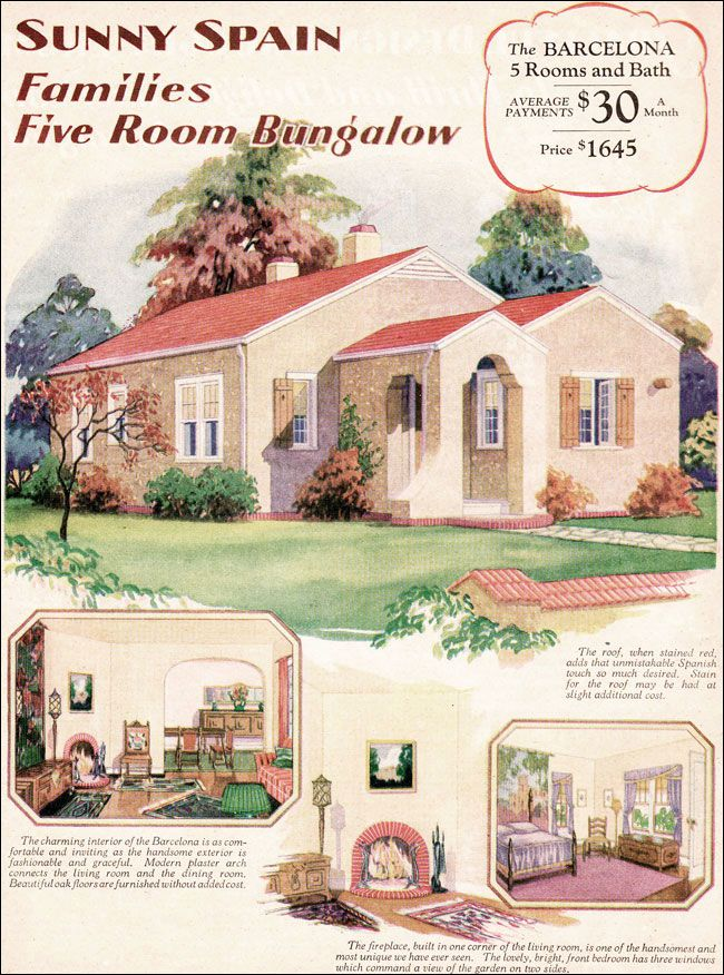 45 Best Images About Spanish Revival Bungalow On Pinterest