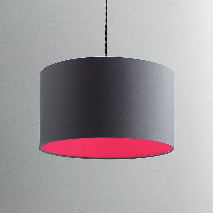 neon lampshade choice of colours by quirk | notonthehighstreet.com