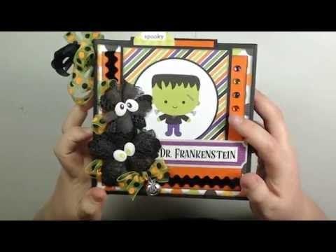 September Craftology 6 x 6 Mini Tutorial - YouTube