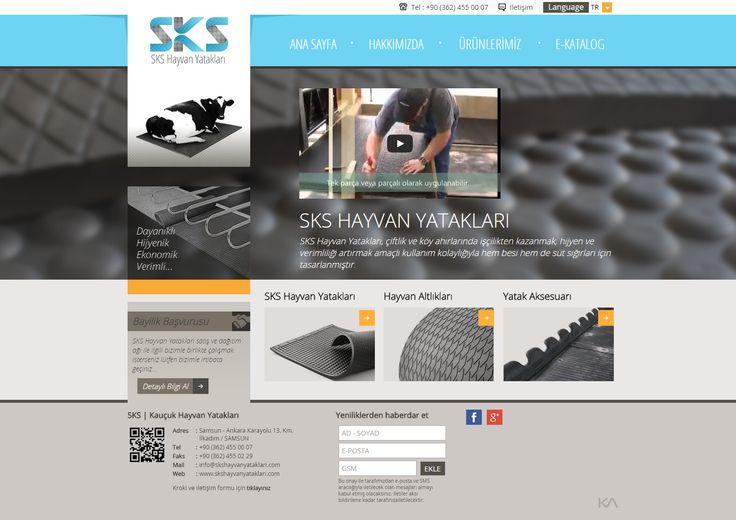 SKS   Kauçuk Hayvan Yatakları   Web Design