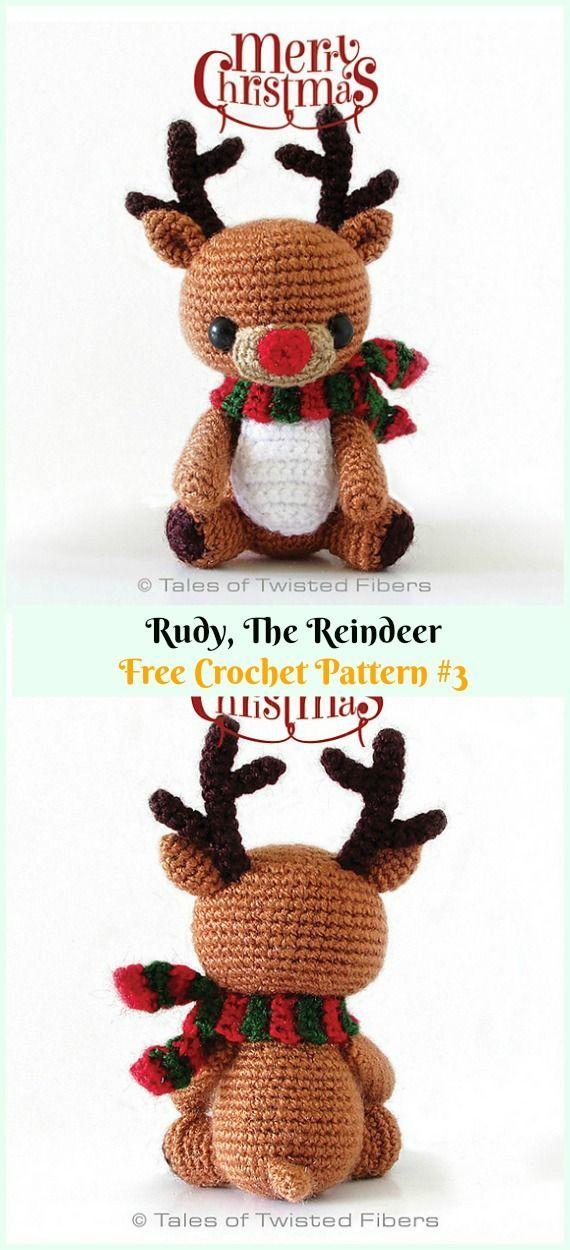 Patrones de Amigurumis para Navidad - Patrones gratis | 1250x570