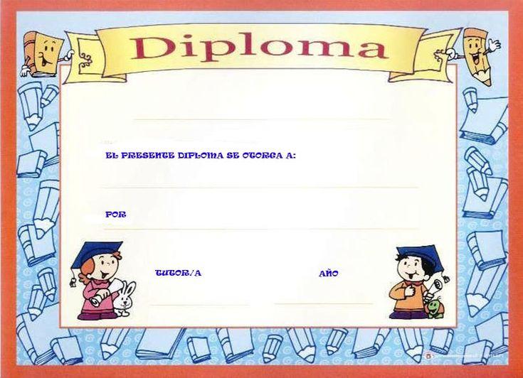 Diplomas para premiar a los niños Te reunimos en esta entrada, diferentes…