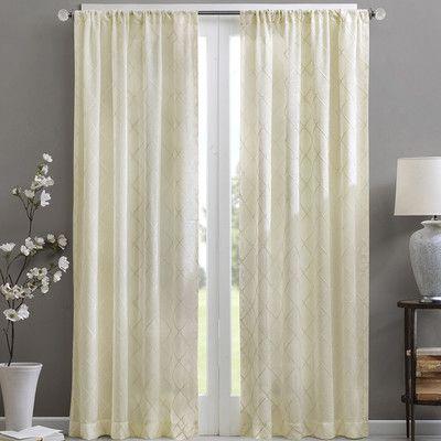 Madison Park Irina Single Curtain Panel