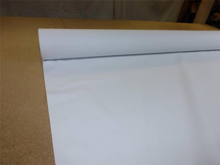 Details About White Thermal Blackout Curtain Lining Fabric 54