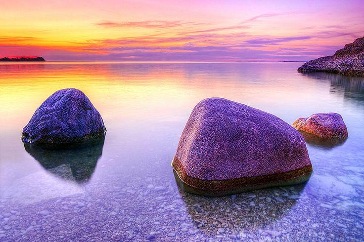 Steep Rock Sunset by Nebojsa Novakovic on 500px