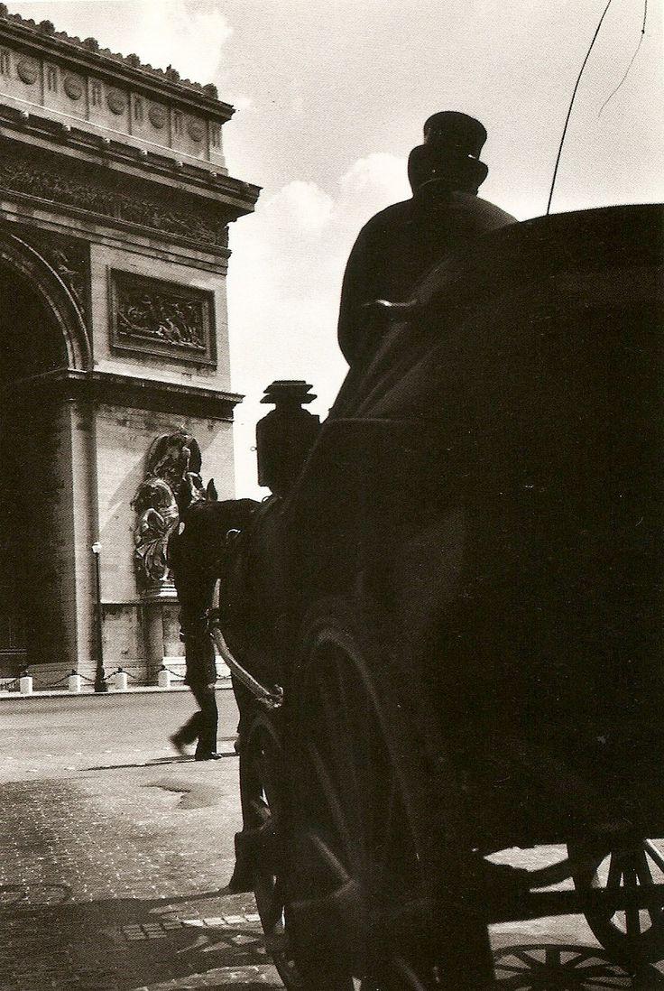 """Paris 1935  """"Place Etoile""""  Rene Jacques"""