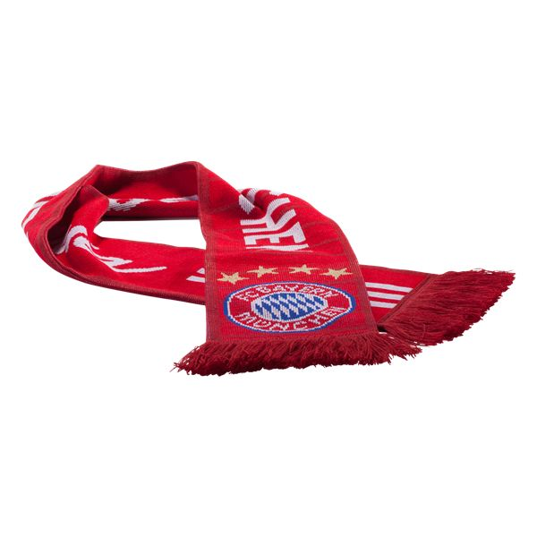 Bayern Munich Home Scarf    | $24.99 | Holiday Gift & Stocking Stuffer ideas for the FC Bayern Munich fan at WorldSoccerShop.com