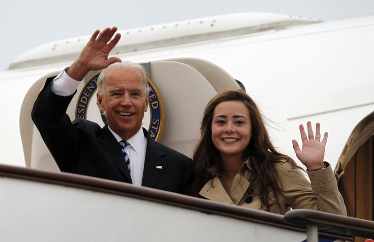 Take a look at the photo slide show of the arrival of Vice President Joe Biden and Naomi Biden in China. Description from examiner.com. I searched for this on bing.com/images