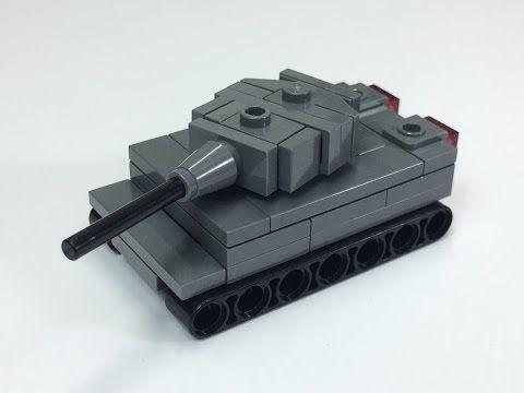 tiny tuesday ep 27 mini lego ww2 tiger tank easy instructions
