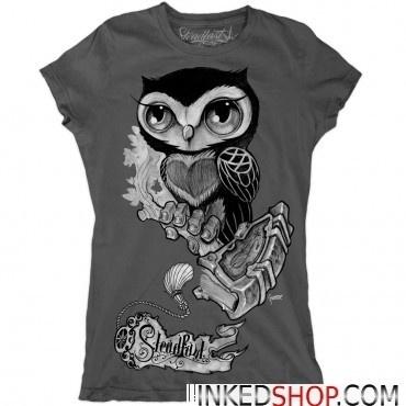 Steadfast Brand Owl T-shirt by Gunnar Gaylord / INKED SHOP