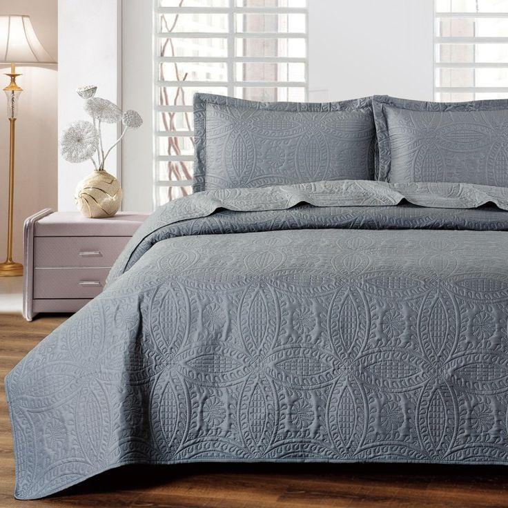Bedroom Paint Ideas Pictures Pic Of Bedroom Interior Bedroom Ideas Mattress On Floor Bedroom Sets For Men: 25+ Best Ideas About Gray Bedspread On Pinterest