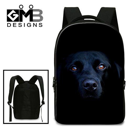 Девушки стильные школьные сумки, ноутбук рюкзак для Студентов Колледжа, мальчики прохладный computer bag, fashion day pack для девочек, собака back pack