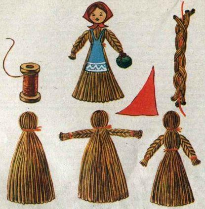 кукла оберег своими руками tut Puppen international Pinterest