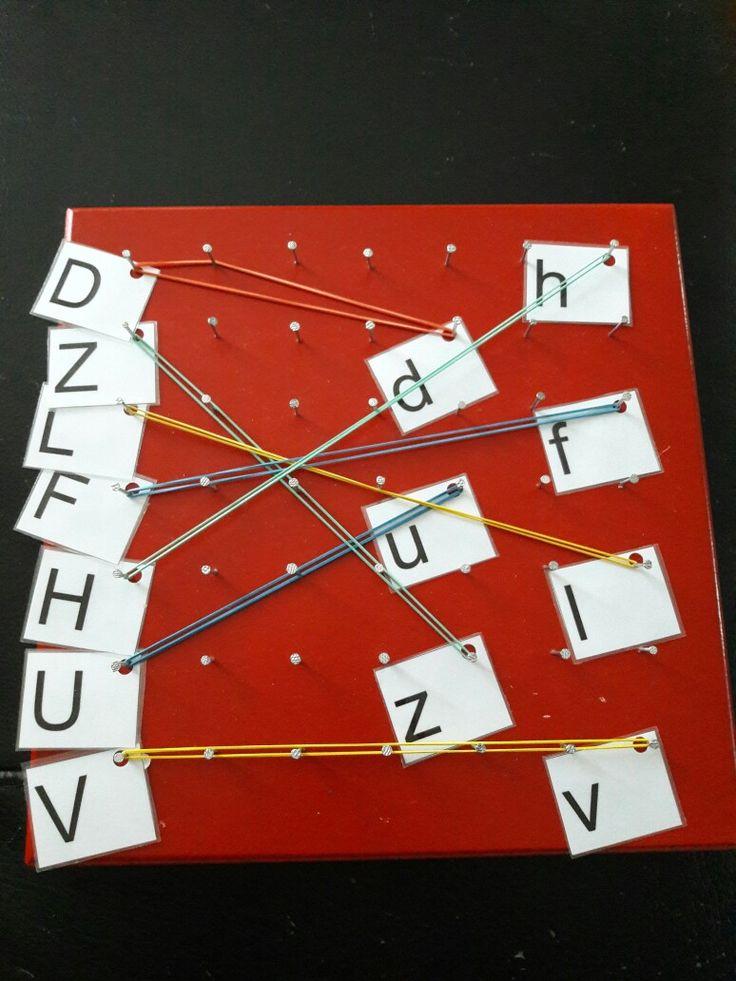 Letters verbinden