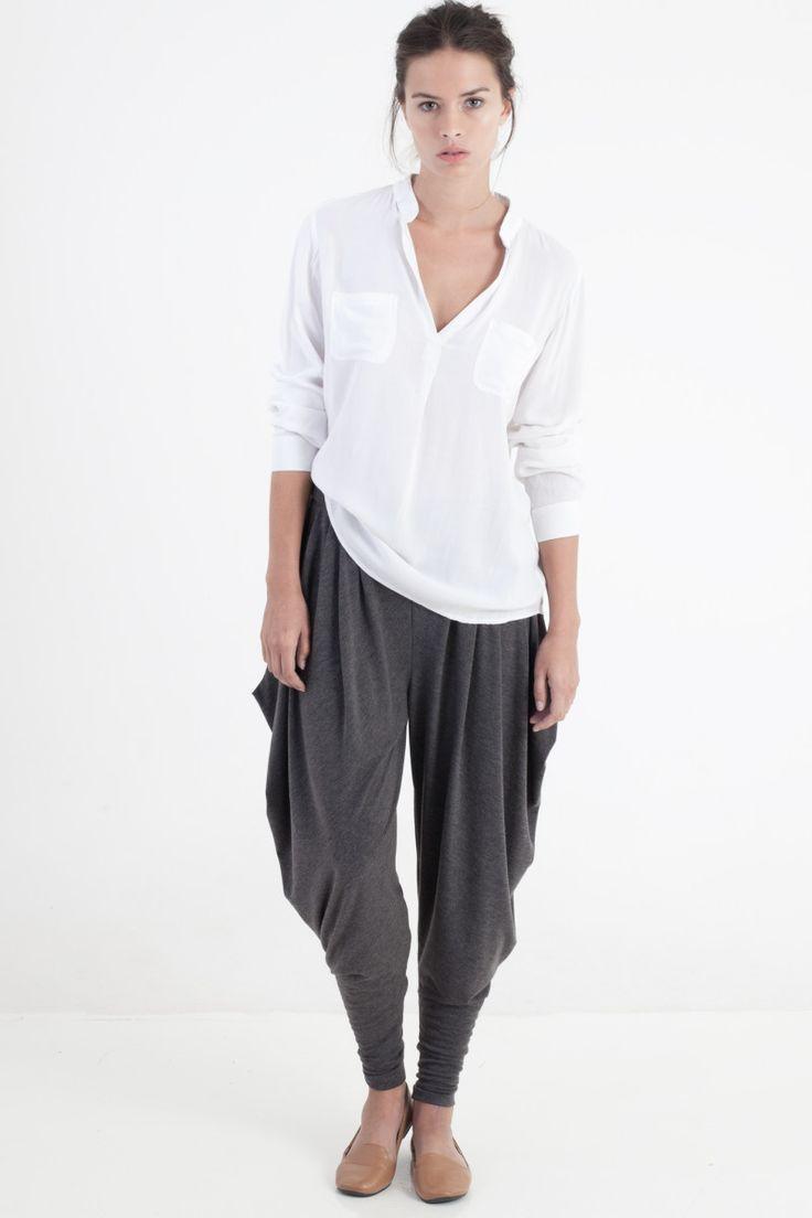 Sitting Pretty | Shop | AW15 | Nightfall pleated pants