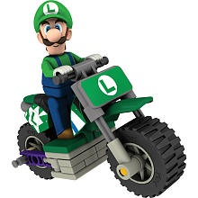 K'NEX Mario Kart Build Set - Luigi Bike